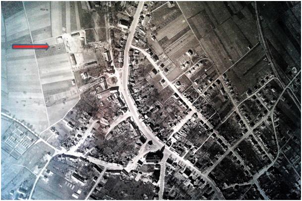 Luftaufnahme KZ-.Außenlager Spaichingen